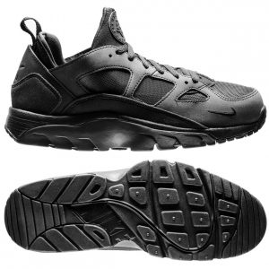 sorte Air Trainer Huarache Low Sort