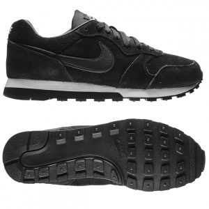 sorte Nike - MD Runner 2 Leather Premium Sort