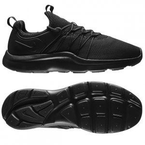 helt sorte sneakers